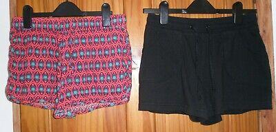 2 Paia Di Pantaloni Corti Taglia 10-mostra Il Titolo Originale