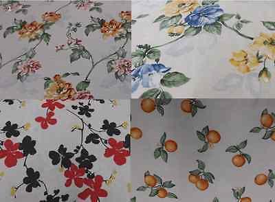 1M Dekostoff Gardinen Tischdecke Kissen Polster Vorhang Patchwork Bezug Blumen