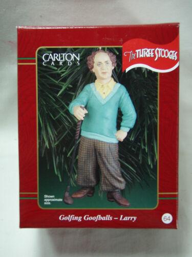 2000 Carlton Cards Golfing Goofballs Larry Fine The Three Stooges