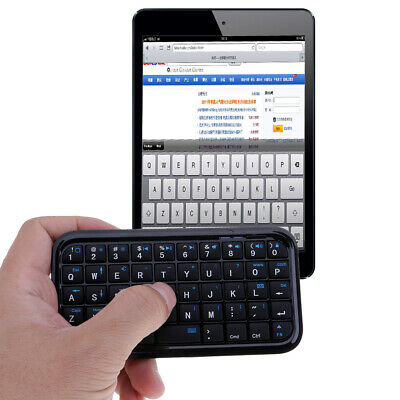 Mini Portable Wireless Bluetooth Keyboard for Mobile Phones//PC//PS3 Black