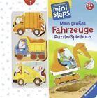 Mein großes Fahrzeuge Puzzle-Spielbuch von Sabine Cuno (2017, Gebundene Ausgabe)