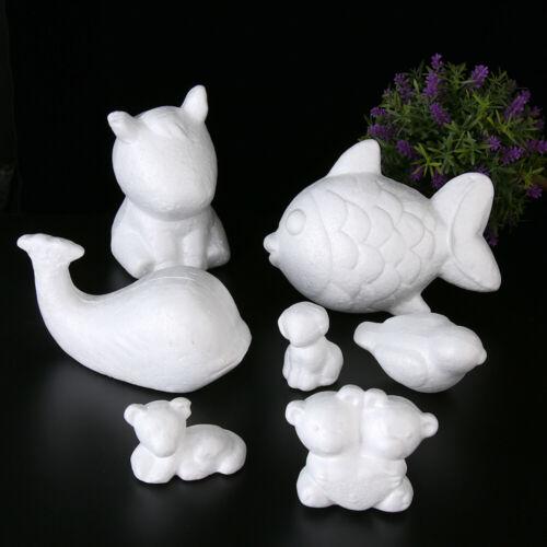 Kinder Spielzeug Styropor Weißes Polystyrol Form der Tiere Kugeln aus Schaum