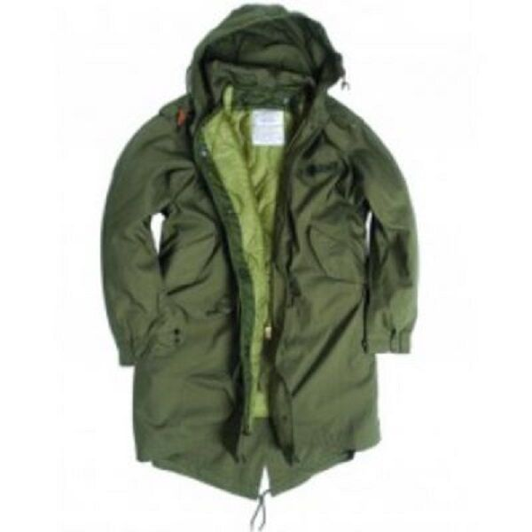US Gi Shell Hooded Parka M51 Army Fishtail XS XSMALL