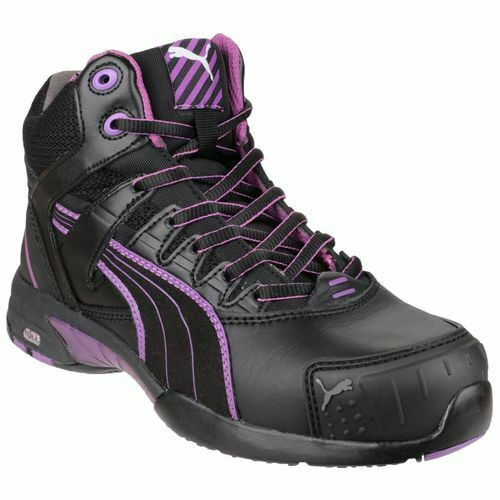 Puma Safety Stepper Women's Mid Safety Boots in Black
