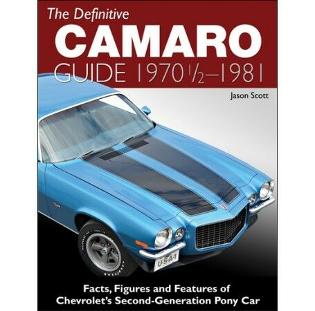 1970-1981 Camaro Guide OEM Option Changes CT548 SS Z//28 Rally Sport Type LT