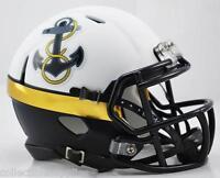 Navy Midshipmen Special 2012 Alternate Speed Mini Football Helmet