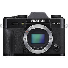 Fuji Fujifilm X-T10 XT10 Digital Camera Body in Black (UK Stock) BNIB