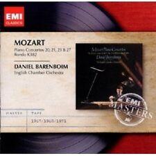 DANIEL BARENBOIM - KLAVIERKONZERTE 20,21,23,27 2 CD NEU MOZART