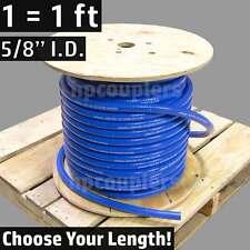 """5/8"""" ID FlexFab 5526 Blue Silicone Heater Hose 16mm 350F Radiator Coolant .63"""""""