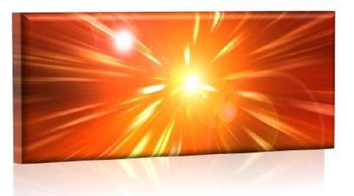 LED Bild - Leuchtendes LED Bild - LED Wandbild - Model 25 - 100x40 cm