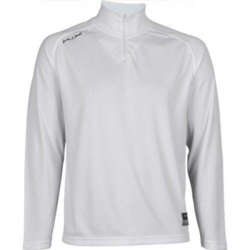 K1X Intimidator Basketball Long Sleeve Shooting Shirt White