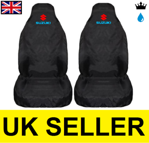 100/% WATERPROOF BLACK SUZUKI SWIFT COL PREMIUM CAR SEAT COVERS PROTECTORS