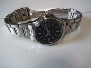 Seiko-Stainless-Steel-Date-Solar-Mens-Watch-Authentic-Working
