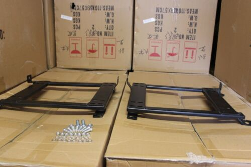 2x BRIDE RECARO Crank Motor Seat adapter rail suit BMW E36,E46 Coupe and Sedan