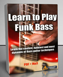 Details about Learn to Play Funk Bass Tutorial - PDF + Mp3 Download