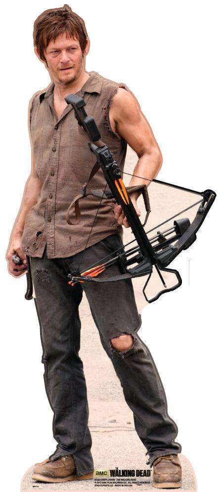 SC-655 The Walking Dead Daryl Dixon Hauteur 178cm Support en carton