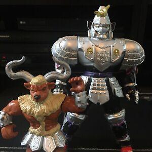 Bandai Power Rangers Silent Knight & Minotaur Evil Space Aliens Lot of 2 Figures