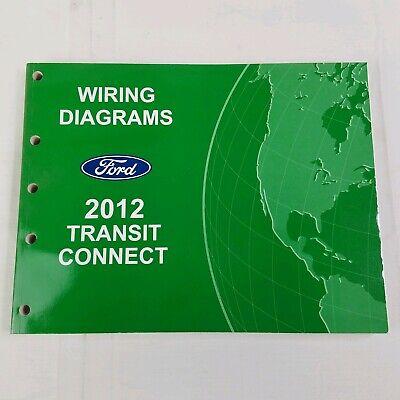 2012 Ford Transit Connect Service Wiring Diagram Manual Repair Ebay