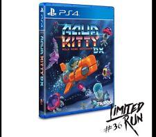 LIMITED RUN #36: AQUA KITTY DX (PS4). Print run of 2800 copies.