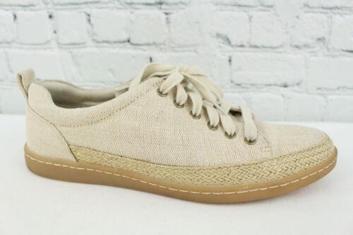 Born Abelonia Womens Natural Canvas Casual Sneaker