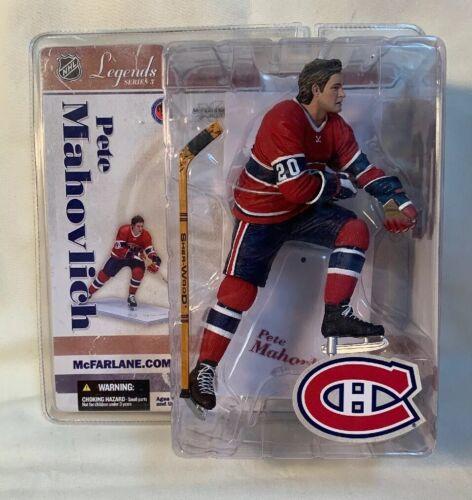 Montreal Canadians Pete Mahovlich Legends Series 3 McFarlane