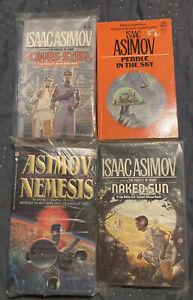 Isaac Asimov The Naked Sun Gods Themselves VINTAGE LOT PB