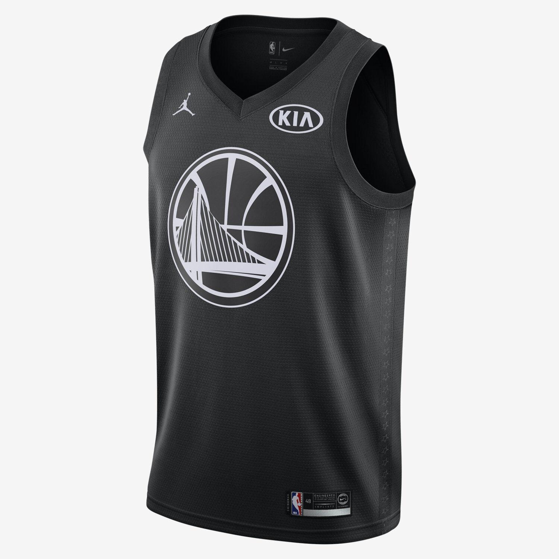 Jordan NBA Kevin Durant All-Star Edition Swingman Trikot Schwarz Weiß 928873-012