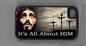 L@@K! Jesus - Its All About HIM cell phone case Christian iPhone iPod Samsung | eBay