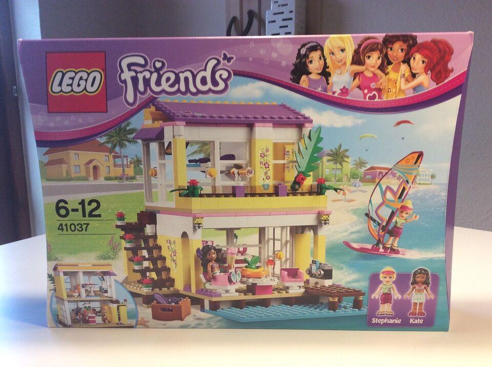 lego friends strandhus