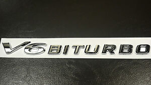 V6-Biturbo-Badge-Fender-Rear-Trunk-Engine-Produced-Sticker-Emblem-for-A5-A6-GTR