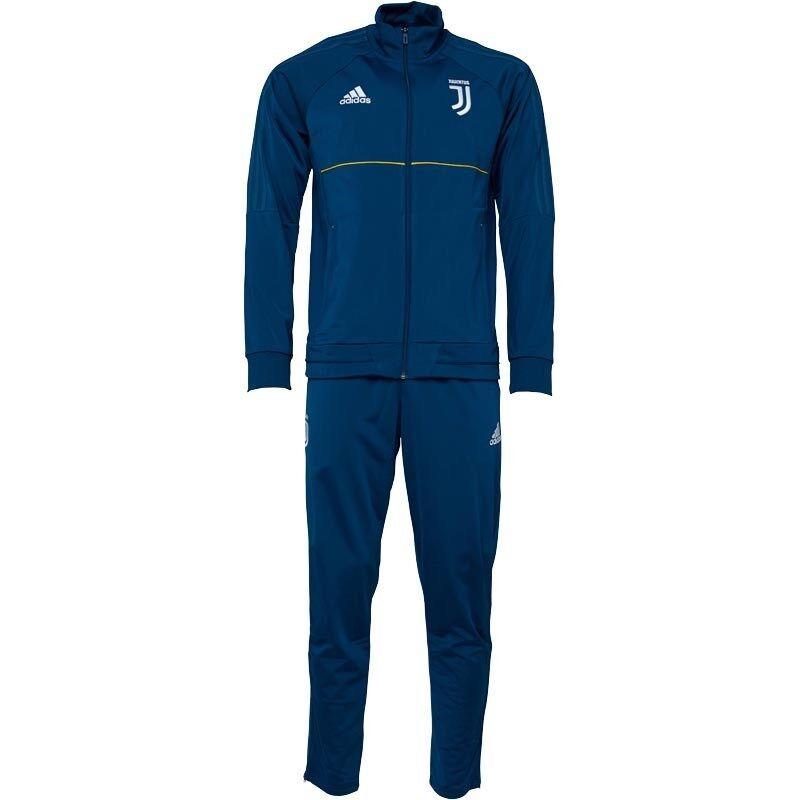 Juventus Torino Calcio Tuta Italia Adidas Polyester Football Suit Juve NUOVO