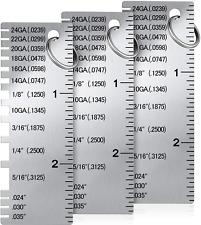 Gauge Metal Sheet Thickness Gauge Metal Gauge Tool Stainless Steel Thickness Gau