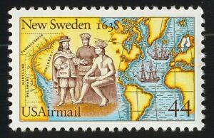 #C117 44c Nuevo Suecia, Nuevo Cualquier 5=