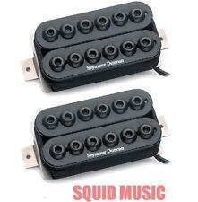 Seymour Duncan Invader 6 String Set In Black SH-8 ( FREE WORLDWIDE SHIPPING )