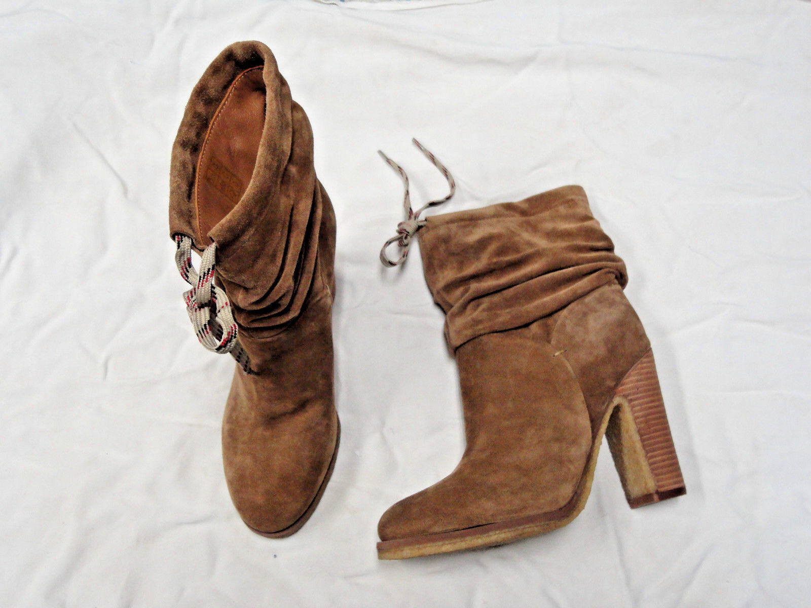 See by Chloe brown suede fashion boot   Size 7 1/2   Euro 37 1/2