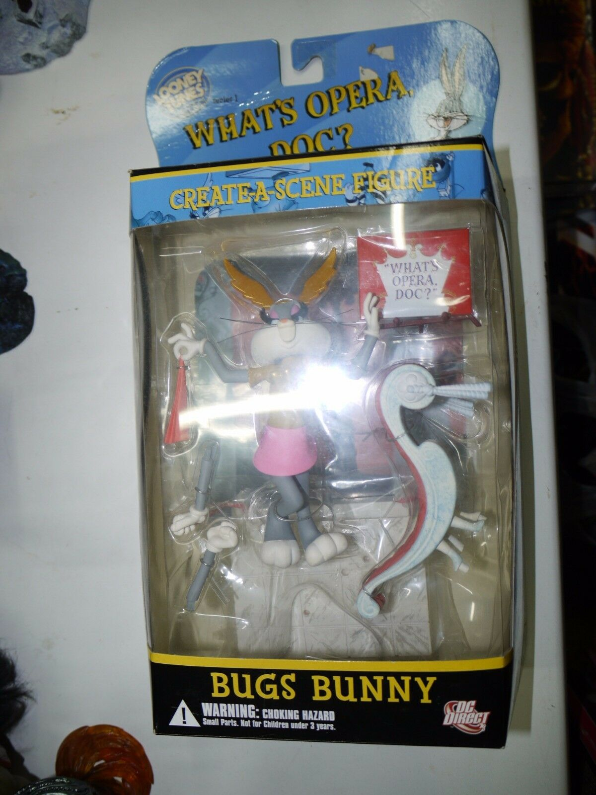 2006 DC Looney Tunes oroen collezione Bugs Bunny whats opera doc cifra MIB