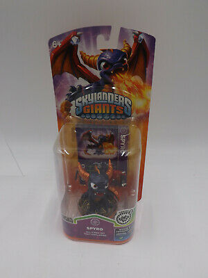 Scellé Nouveau Skylanders Giants Spyro le Dragon Figure Series 2 Rare Comme neuf on Card
