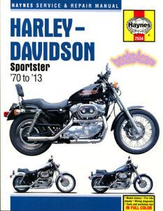 harley davidson sportster shop manual service repair book haynes rh ebay com 2004 Harley-Davidson Sportster Manual 2018 Harley-Davidson Wild Glide
