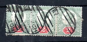 GB-QV-1887-2d-Jubilee-used-strip-of-3-WS12872
