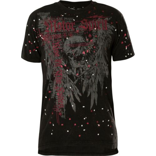 AFFLICTION T-Shirt The Rise Schwarz T-Shirts