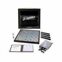 Scrabble Onyx Edition Parker Brothers Hasbro Game Sealed In Original Shrink