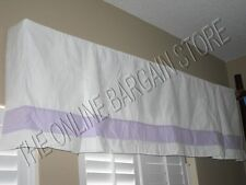 Pottery Barn Box Pleated Marissa Valance cornice Board Drapes Curtains Panes LVR