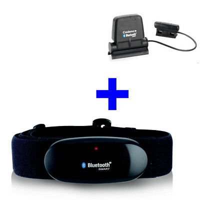 Bluetooth Fascia Toracica + Speed/cadence Per Runtastic App Iphone 4s/5/6/se/7/8/x-x It-it Mostra Il Titolo Originale