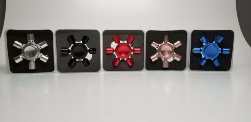 NEW !Fidget Spinner Hand Metal Fast Spin Desk Toy ADHD Metal 5 colors available
