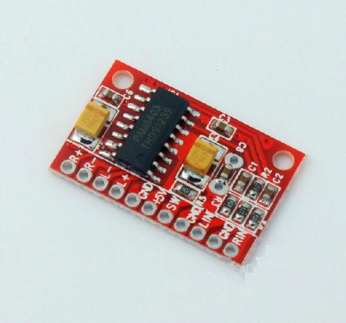 Mini Digital Power Amplifier Board 3W+3W DC AMP Module 5V USB Power Supply - UK