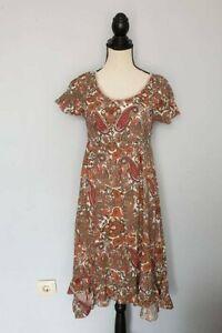 Damen-CREAM-Rosa-Kurzarm-Kleider-Dress-Gr-36