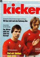 Magazin Kicker 6/1977,Bundesliga,