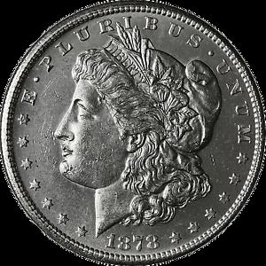 1878-S Morgan Silver Dollar Brilliant Uncirculated BU