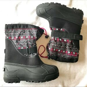 Columbia girls kids snow boots size 4