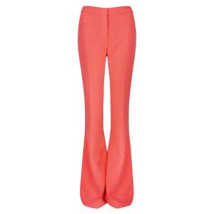 Stella-McCartney-Living-Coral-Flared-Leg-Trousers-Pants-IT42-UK10